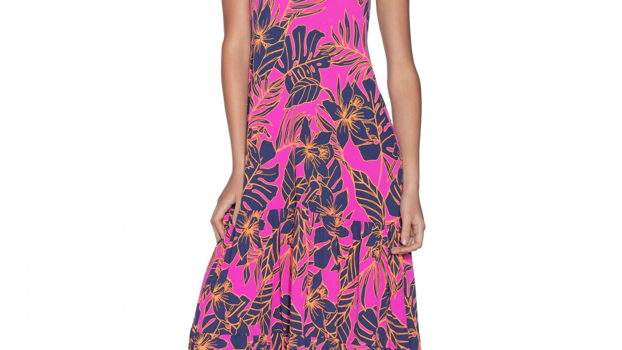 Maaji Aloha Dreams Long Beach Dress Cove