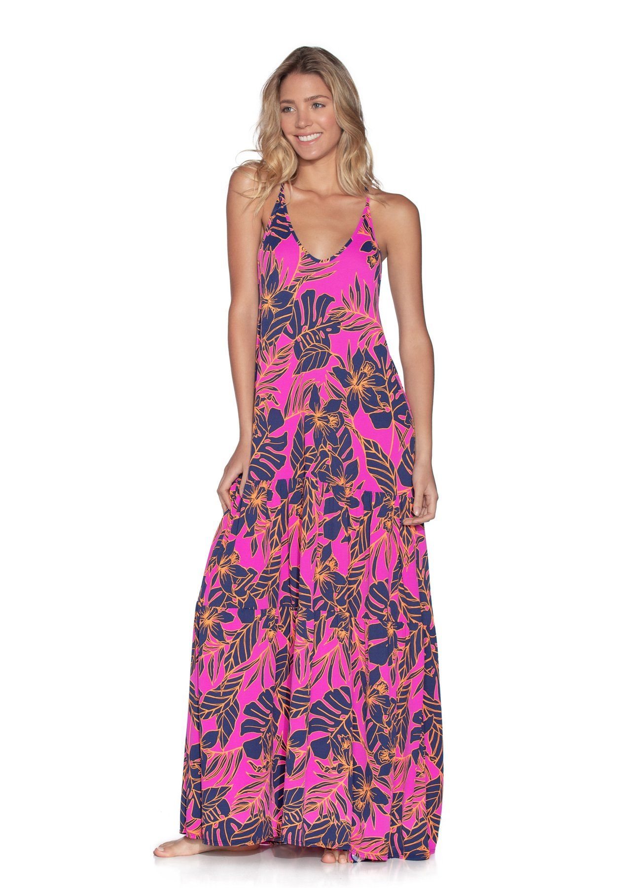 Maaji Aloha Dreams Long Beach Dress Cove